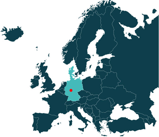 HEO COATING location in Europe Map